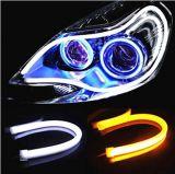LED 지구 관, 차 유연한 주간 야간 항행등 DRL LED 차 빛