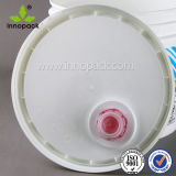 De witte 13L Op zwaar werk berekende Duidelijke Plastic Emmer van de Container van de Emmer