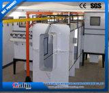 Revêtement en poudre de cabine de pulvérisation automatique avec système de récupération de la poudre de filtre