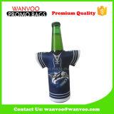 Neoprene Beer Can Bottle Cooler Sac en T-shirt Forme