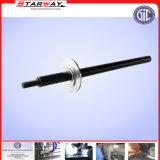 Eixo estriado de Aço Inoxidável Personalizada com serviço de viragem CNC