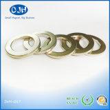 Ímã de anel permanente de N42 NdFeB usado para o componente do altofalante