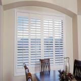 60mm de doble panel de apertura de UPVC Casement ventana con vidrio simple