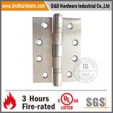 SS304 de Scharnier van de deur met Ul- Certificaat 4 ' de Hardware van de Deur x3'x3.0