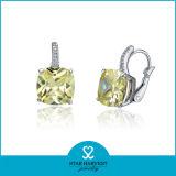 precio de fábrica de diamantes Whosale pendientes