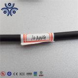 Fio elétrico de nylon da bainha Thwn/Thhn do condutor de alumínio