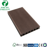 Wood Composite Plastic Decking Panel for Outdoor Flooring 140X25mm Hole Round