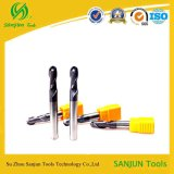 Milling Cutters에 있는 높은 Performance Tungsten Steel Used Carbide Ball Nose End Mill