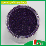 Laser Purple Glitter Powder con Low Price