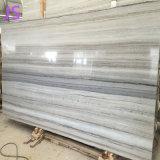 建築材料のための自然な水晶木の白い大理石の平板
