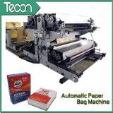 Válvula de bolsa de papel Tuber Línea de producción con la máquina de impresión