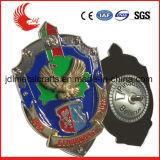 カスタム高品質および安い価格の金属の保安官のバッジ