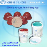 Het Rubber van het Silicone van de Druk van het Stootkussen van de Behandeling van het platina