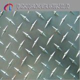 Feuille Checkered d'acier du carbone Q235 de Chine