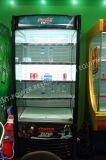 セリウムが付いている商業飲料の表示クーラー