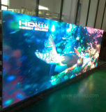 P4.8 a todo color de fondo de la pantalla LED con panel delgado de aluminio