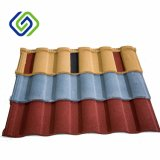 Azulejo de azotea revestido del metal de la piedra de los materiales de material para techos