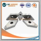 2018 indexables en carbure de tungstène Inserts outils CNC