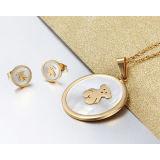 De Reeks van de Juwelen van het Roestvrij staal van de Juwelen van de manier (hdx1085)