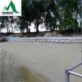 Geo管およびGeobagを保護する排水浜