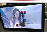"""Yashi 21,5"""" Trois face à l'écran LCD transparent Boîte d'affichage publicitaire Affichage à angles multiples"""
