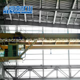 Montado en la rampa de 30 toneladas de doble viga puente grúa