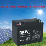 Batería 12V del gel de la batería solar de la marca de fábrica del Mca Toyama