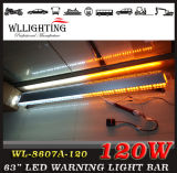 120 LED 65 '' Traffic Advising Emergency Strobe Lightbar