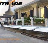 Pfosten-Auto-Aufzug des Kammerdiener-hydraulischer vertikaler Ablagefach-Parken-Geräten-2 mit zwei Fußböden