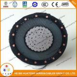 Куртки нейтрали изоляции Trxlpe распределительный кабель концентрической (PE) LLDPE подземный 15-35 Kv