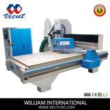 自動ツールのチェンジャー(Vct-CCD1530atc)が付いている木製の家具CNCの木工業機械装置
