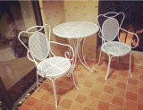 熱いSale Antique White Foldable TableおよびChairs