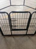 屋外の金属のチェーン・リンク犬の犬小屋犬のベビーサークルの犬小屋