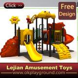 As crianças mundo seguro parque de diversões exterior deslize (X1501-11)