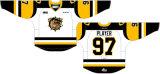 Настраиваемые Онтарио хоккейной лиги Гамильтон Bulldogs 2015-2016 дома и дороги Хоккей Джерси