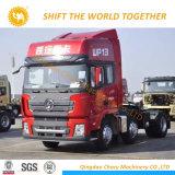 최신 판매 Shacman 6X4 380HP 트랙터 트럭