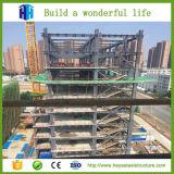 Construction brutale élevée préfabriquée de voûte d'hôtel de structure métallique