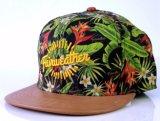 Роскошная полная крышка Snapback шлема печатание с заплатой вышивки