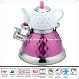doppia caldaia 2.7L+0.75L con la caldaia multifunzionale del POT del tè