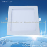 Hot ultrasottile Sale 12W Aluminum Square Recessed Ceiling LED Panel Light