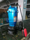 Bomba de agua sumergible doméstica de aguas residuales para el agua sucia