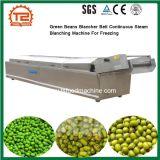 Les haricots verts Blancher blancheur de la machine à vapeur en continu de la courroie de gel