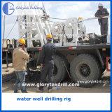 буровая установка добра воды 400m глубокой установленная тележкой