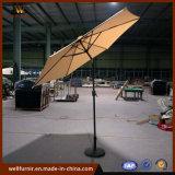 Ombrello diritto del giardino di Furnir 2.7m del parasole della spiaggia del patio di alluminio impermeabile buono di Sun