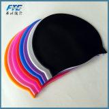 성인에 의하여 주문을 받아서 만들어지는 로고를 위한 연약한 실리콘 수영 모자