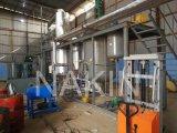 증류 설비를 재생하는 윤활유 기름에 폐기물 모터 오일 이용된 엔진 기름