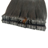 Color marrón ruso llamado doble cinta de pelo Hair Extension