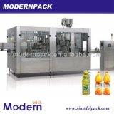 3 en 1 cadena de producción de la bebida del zumo de fruta/maquinaria de relleno de relleno