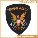 뒤 (YB-e-037)에 철을%s 가진 관례에 의하여 수를 놓는 경찰 패치