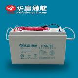 batería de plomo sin necesidad de mantenimiento del almacenaje solar de 12V 90ah